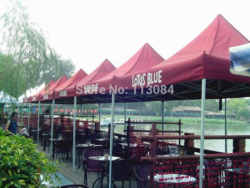 TRASPORTO LIBERO di alluminio professionale 3m x 3m esterna in sul gazebo / tenda pieghevole / partito Canopy Marquee per Outdoor Events