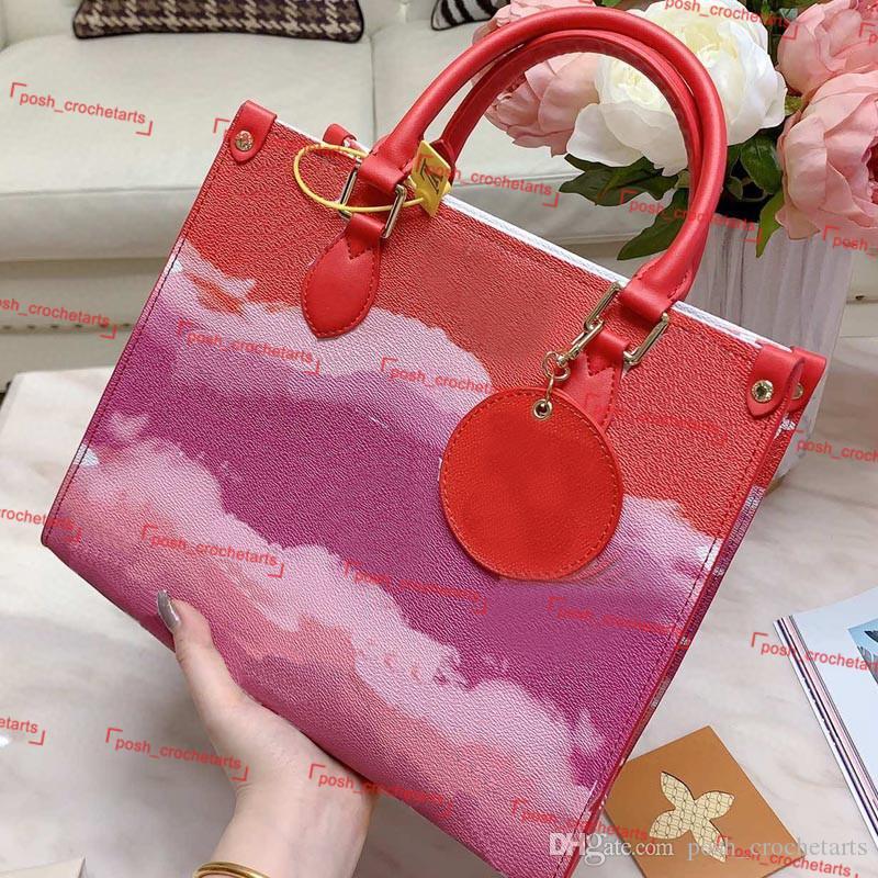 Tie tintura de bolsa em bolsas de desenhador de bolsas de bolsas de desenhista laço de tote escala para sacos de corante luxo mulheres bolsa de verão designer grande para a fashion frearqx