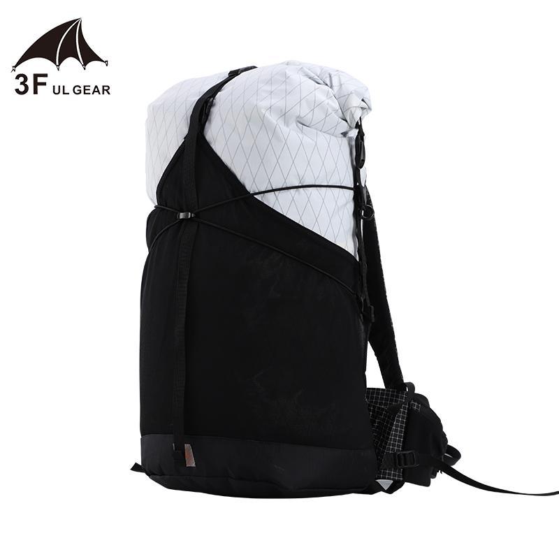 3F UL ENGRANAJE 35L durable, ligero viaje acampan yendo de excursión al aire libre ultraligero sin marco Packs XPAC UHMWPE