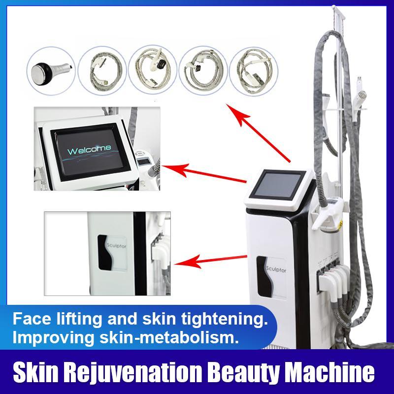 N8 Plus 3 Slimming Machine Cavitation + Vácuo + Rolo + RF + Luz Infravermelha + Rolo Cavitação Ultrasônica Lipoaspiração