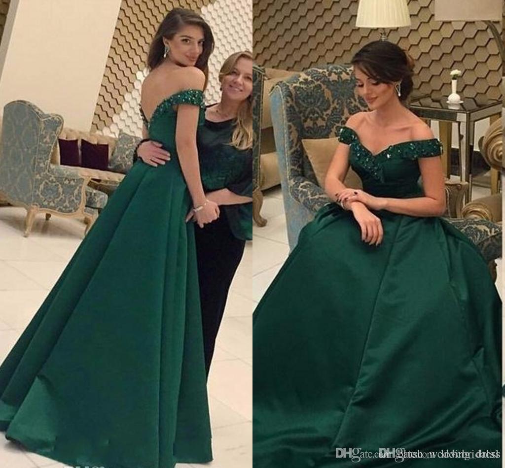 großhandel nach maß dark green plus size prom kleider modest