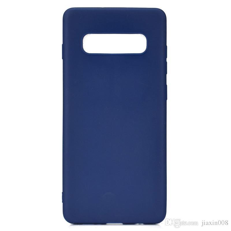 Şeker Renk Kapak Samsung Galaxy S10 Durumda Yumuşak TPU Ultrathin Tasarımcı Mobie Telefon Kılıfları Capinha
