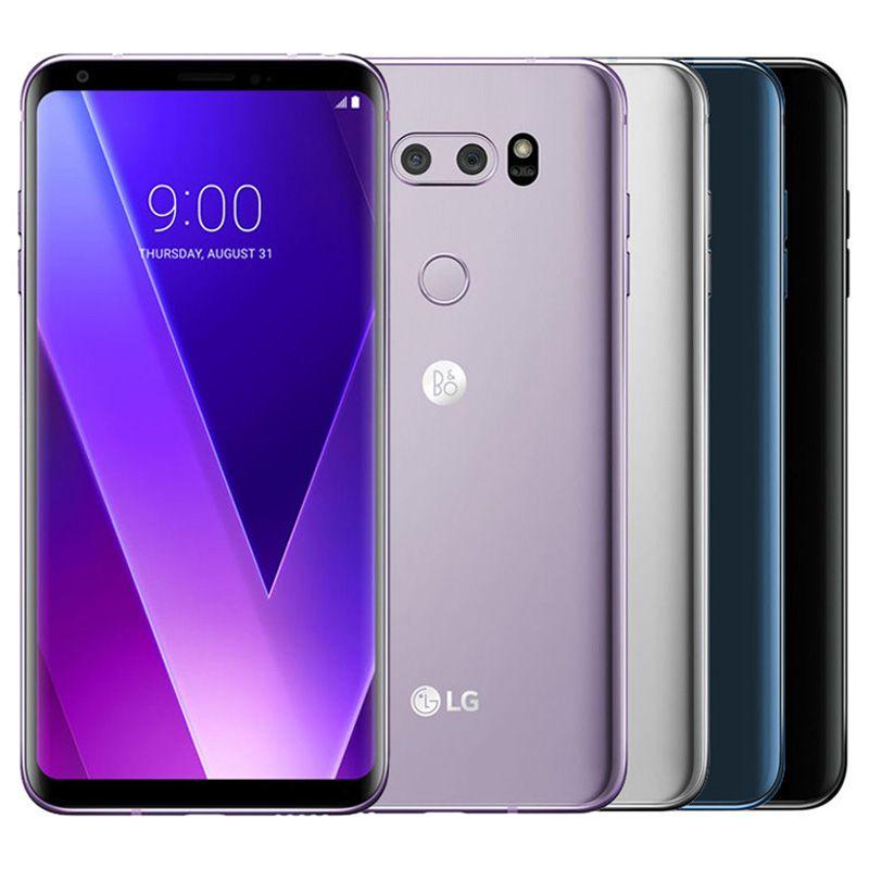 Refurbished Original LG V30 H930 H931 6.0 inch Octa Core 4GB RAM 64GB ROM 16MP Unlocked 4G LTE Smart Mobile Cell Phone Free DHL 1pcs