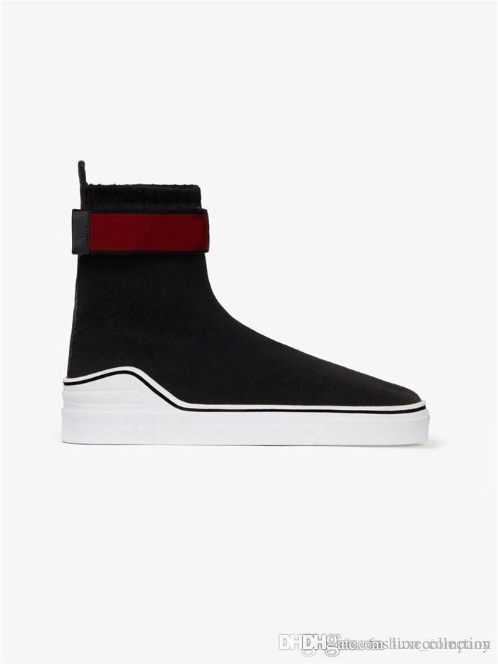 Le ultime sneaker da uomo a calzino a V con tomaia in mesh, stivali Triple S con scarpe da ginnastica Speed suola in gomma morbida per uomo Taglia 38-45
