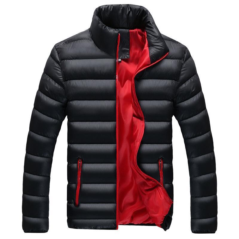 Мужские куртки повседневные мужские куртки 2021 поступление зимние варушки пальто мужской комфортабельный теплый бомбардировщик твердые качественные пальто Homme M-4XL