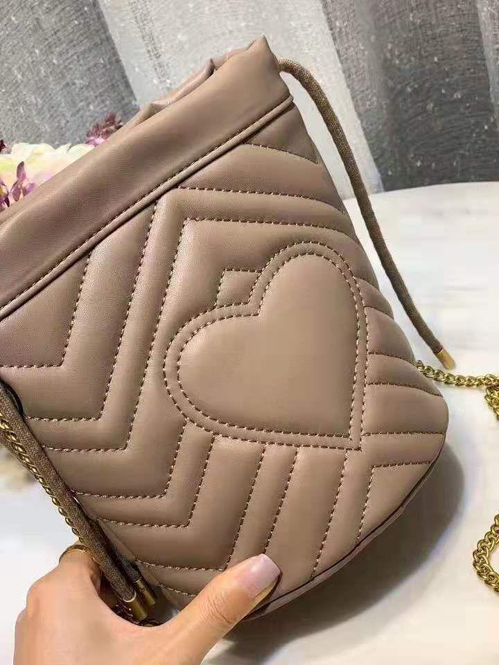 Designer di modo di qualità Designer Lady Borsa a tracolla di lusso borsetta in pelle bovina ad alto secchio con scoreistruri in pelle cfcwg