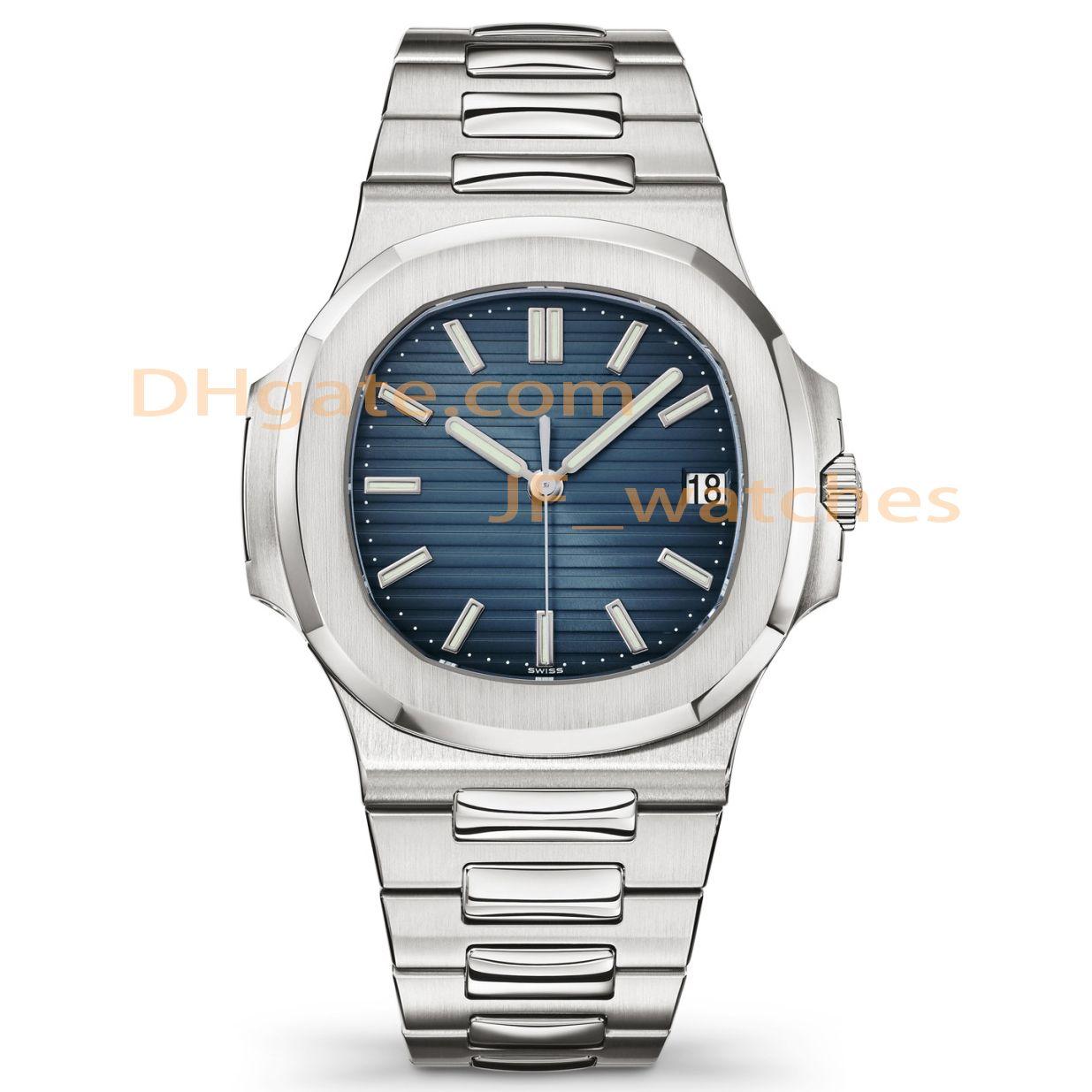 Calendario Hombres relojes de alta calidad superior maquinaria automática Deportes 2813 Movimiento relojes de acero inoxidable resistente al agua 30M luminoso reloj de pulsera