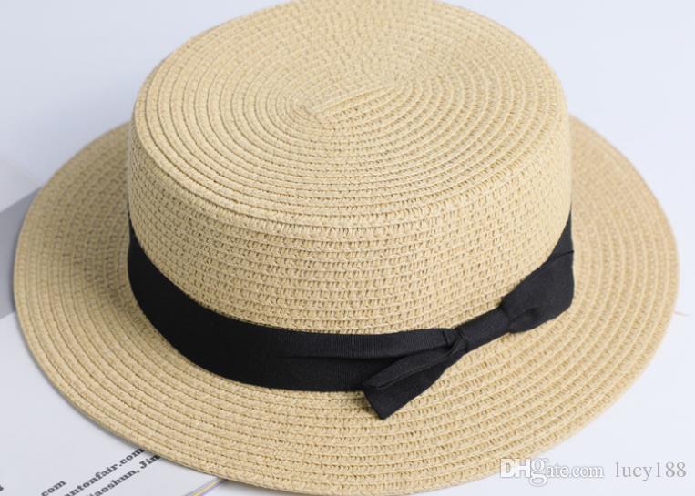 O novo 2019 verão mulheres chapéu maré ms férias ao ar livre protetor solar praia e sunbonnet chapéu atacado