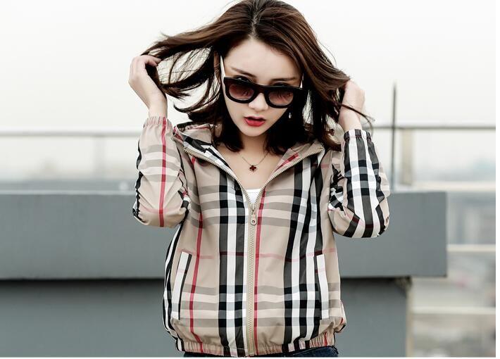 Harajuku Jacket Windbreaker Women Jacket New Fashion coat streetwear coats thin windbreakers hip hop hooded jackets