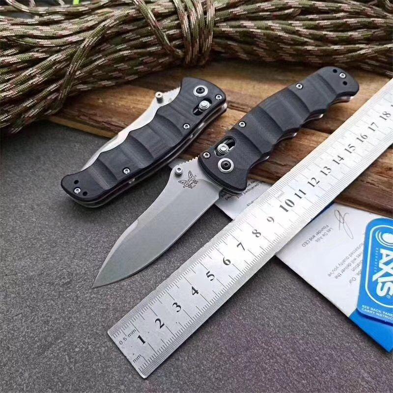 Benchmesser BM484 G10 Griff Nakamura AXIS MINI Messer BM484 M390 Messer Outdoor-Camping-BM940 BM943 BM581 Butterflymesser
