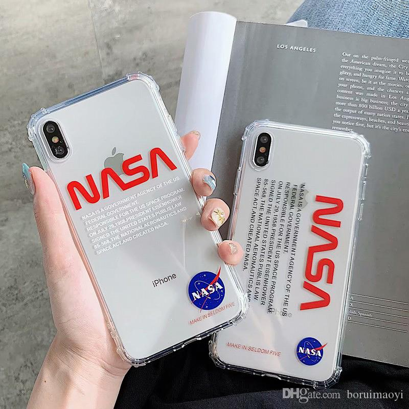 Space Agency NASA Luxury Shockproof Soft TPU Phone Case