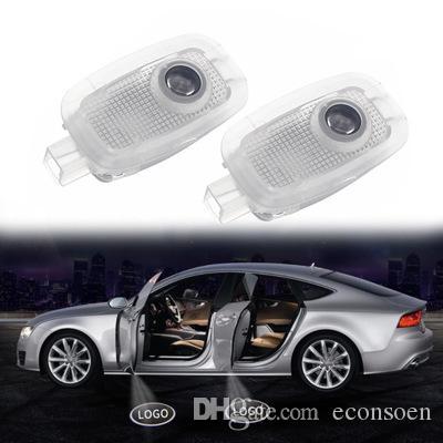 Para porta Benz Car Light Santo Sombra Bem-vindo Logo projetor laser Luzes LED porta do carro para Benz S320 S500