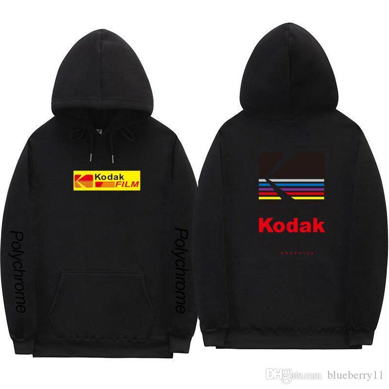 Autumn New Letter Printed Men Sweatshirt Long Sleeve Hip Hop Hooded Hoodies Black Gray Designer Pullover Sweatshirts