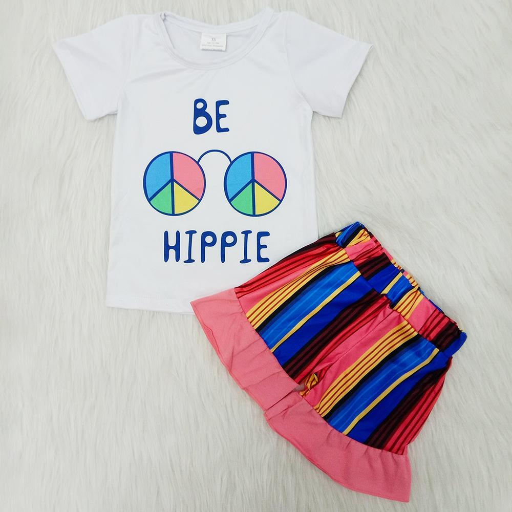 New Design Toddler Girl Clothes Set Milk Silk Summer Short T-shirt+Pants 2Pcs Suit Fashion Baby Clothes for Kids Girls Summer Outfits Hot