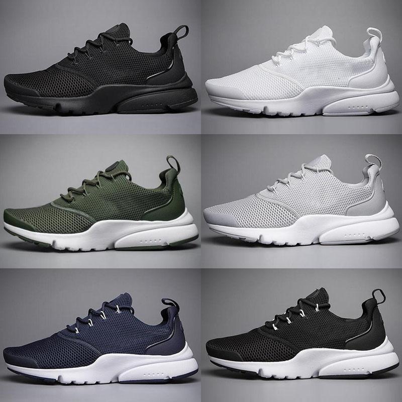 Homens clássico Big Discount New Fashion Presto Fly Arame V3 tênis para homens atléticos Sports Sneakers frete grátis