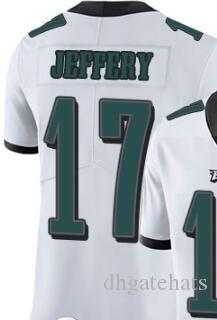 Filadélfia dos homens 36 20 17 Camisas de homem Camisas de futebol americano masculino Todas as equipes Vapor Untouchable Limited Jersey