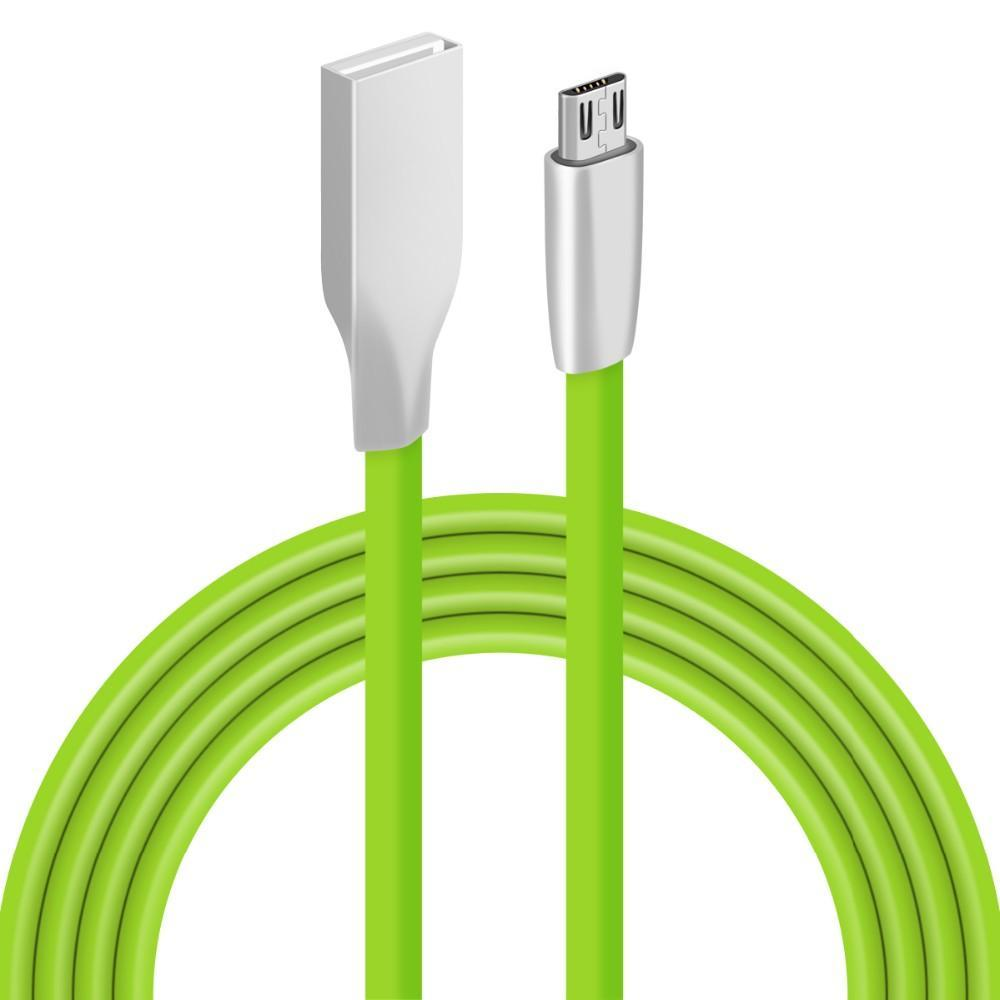 Xiaomi Huawei Samsung için mikro usb kablosu 3D Çinko Alaşım 1M 3 ft USB şarj Veri kablosu j5 J7 LG htc Android