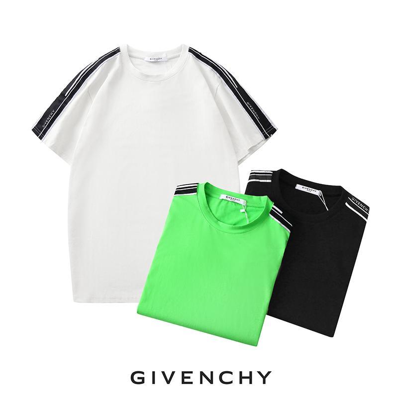 2020 Arrive Marka Tasarımcı Erkekler Tişört Kadınlar Marka Tişört Kısa Kollu Gömlek Lüks Harf Yaz Tasarımcı Tees Ücretsiz Kargo 20033105D