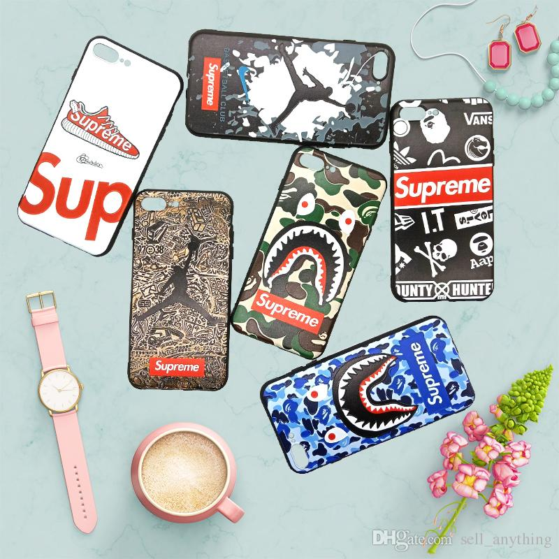 For Iphone 11 Pro Xs Max Xr Luxury Design Variety Mix Phone Case 6 7 8 X Plus Brand Soft Cell Phone Cases