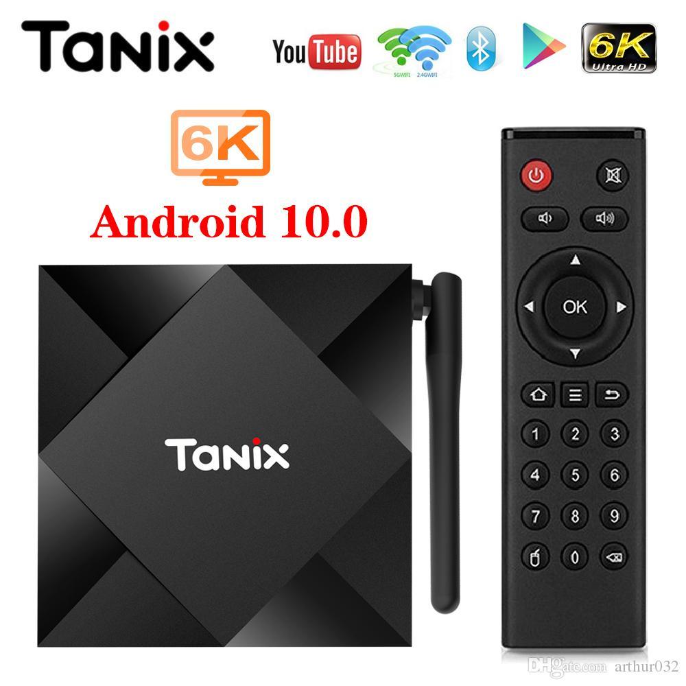 Tanix TX6S Android 10 Smart TV BOX Allwinner H616 2G 8G TX6 Set Top Box Support 4K 2.4G WiFi