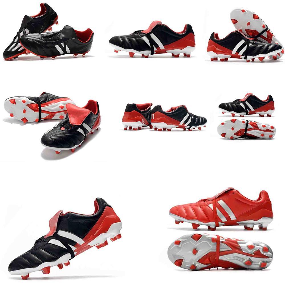 krampon yırtıcı mani Hassas Hızlandırıcı DB David Beckham FG Altın de futbol orijinal krampon 6 futbol ayakkabıları Kramponlar