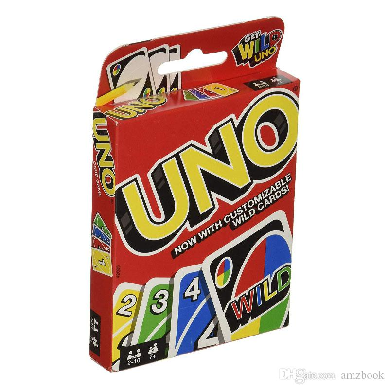 UNO Card Games Wild DOS Flip Edition Board Game 2-10 Players Gathering Game Party Games Card Fun Entertainment