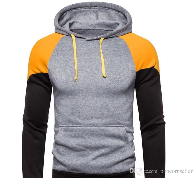 Erkek Moda Tasarımcısı Kazak Hoodies Yeni Sonbahar Kış Hoodie Yeni Sokak Stili Erkeklerde Uzun Kollu Giyim