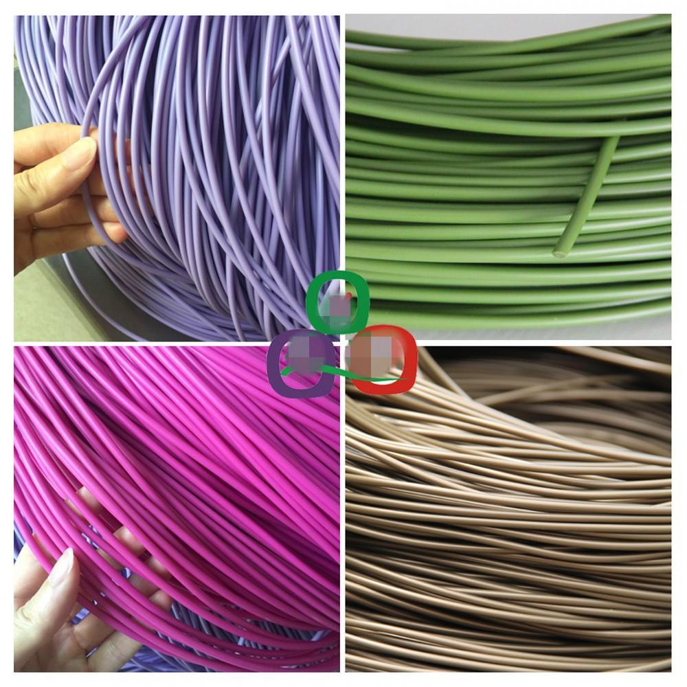 диаметр 500G 3.5MM твердый круглого синтетического ротанга плетение материал пластик ротанг для трикотажных и ремонта стул корзины и т.д. Мебель Аксессуаров