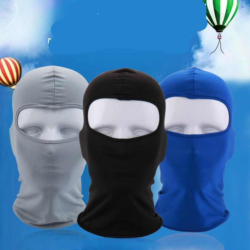 Cloth Elastic Mask Headgear Pure Color Camouflage Many Style Facepiece Masks Riding Outdoor Fashion Sunscreen 2 6wl UU