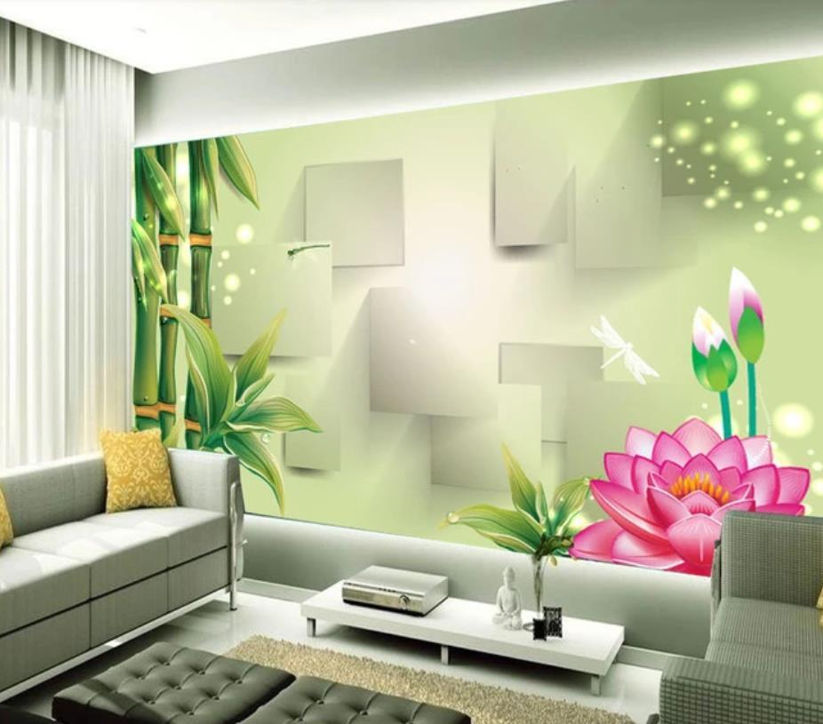 Bamboo Wallpapers Modern Wallpaper For Living Room Modern Stylish Chinese Style Fantasy 3d Tv Background Wall High Quality Wallpapers Free Download