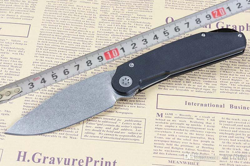 Açık G10 katlama bıçak 9CR18MOV G10 + çelik sac kolu kamp kendini savunma balıkçılık sağkalım kendini savunma EDC aracı ücretsiz nakliye bıçağı