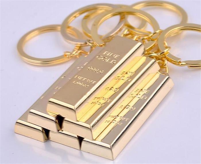 خمر بار الذهب مفتاح سلسلة معدنية الإبداعية لبنة الحلي مصمم حقيبة يد سحر قلادة أقراط مفتاح مكتشف فاخرة رجل السيارات مفتاح خواتم
