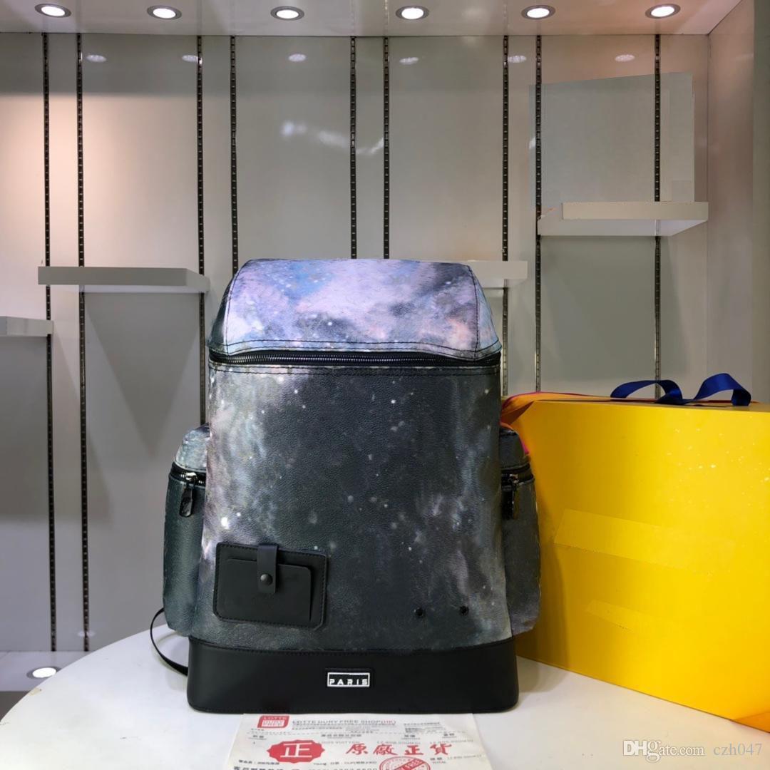Männer der neuen Art-Rucksäcke echtes Leder modische Handtasche Rucksack für Frauen und Männer Taschen 32 X 50 X 17.5CM