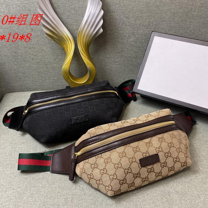مصمم فاني حزمة لرجل ترف النساء الخصر حقيبة الرياضة في الهواء الطلق الأزياء Fannypack أوب # 0510 B104403X