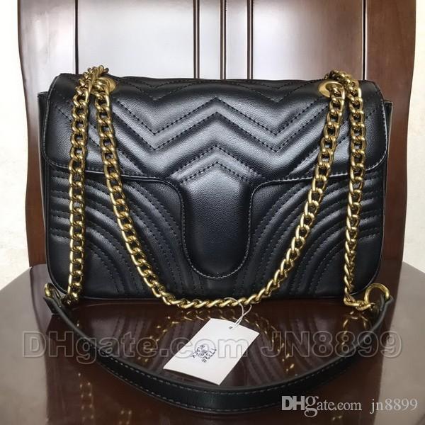 حار بيع حقائب الكتف موضة المرأة سلسلة CROSSBODY حقيبة حقائب جلدية سيدة أعلى جودة المحافظ الجديد مصمم المحفظة أنثى رسول حقيبة