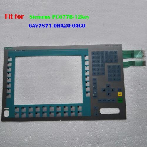 para Siemens PC677B-12key 6AV7871-0HA20-0AC0, 6AV7 871-0HA20-0AC0 teclado de membrana