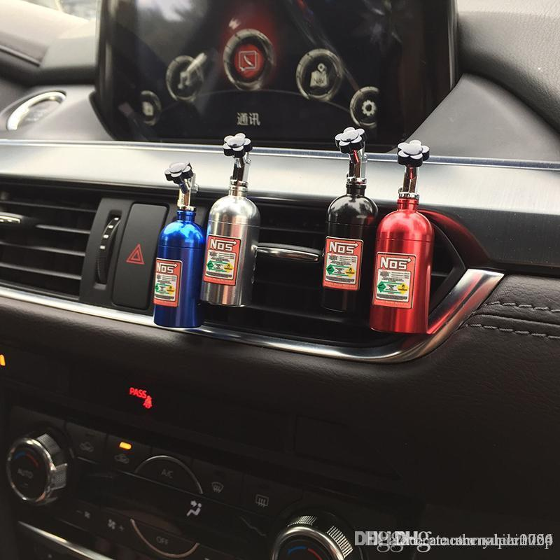 1PCS Auto festen Duftstoff-Schwamm Refill Lufterfrischer Outlet NOS Parfüm Clip Auto Aromatherapie Dispel eigenartiger Geruch Stickstoffflasche