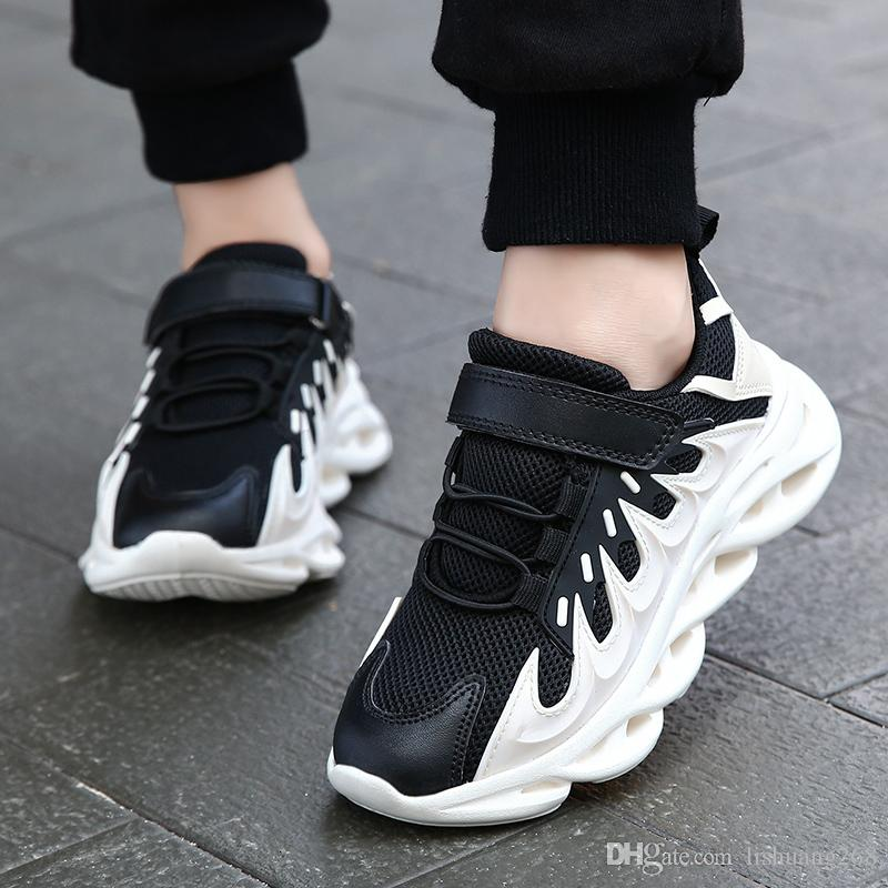 Corrida marca caçoa as sapatilhas externas calçados para meninas Super Light Crianças Sport Shoes menina Anti-skid Deslizamento-na Casual Athletic Shoe