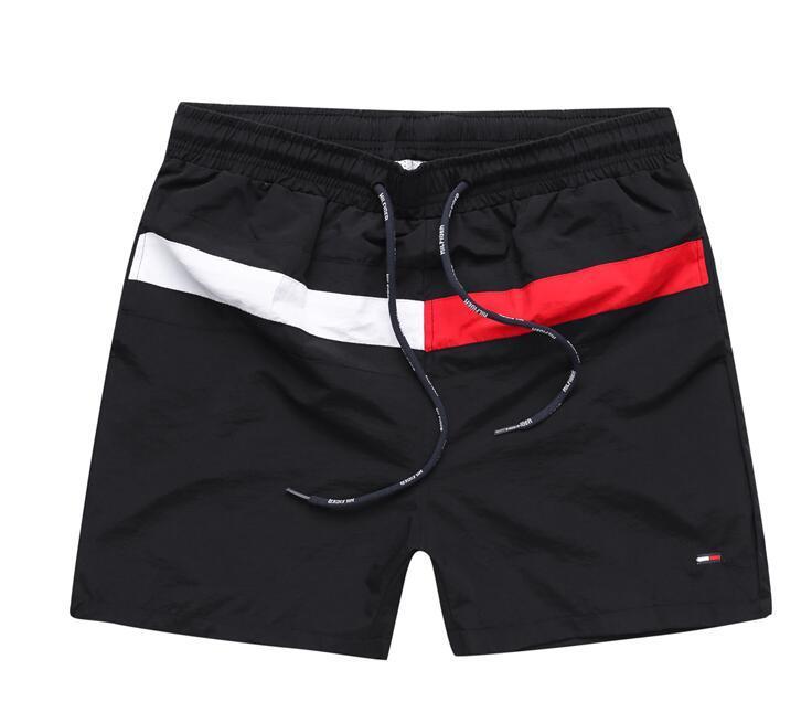 Casual estilo Sólido tablero del color hombres de los cortocircuitos del verano 2019Wholesale pantalones cortos para hombre de la playa Piscina Shorts Hombres Deportes corto