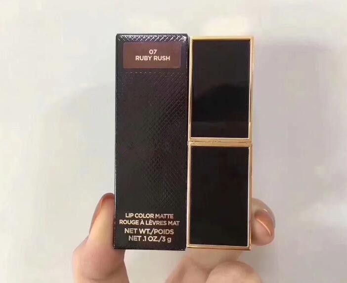 Hot vente marque de maquillage Rouge à lèvres Nu / Rouge à lèvres mat de haute qualité Livraison gratuite