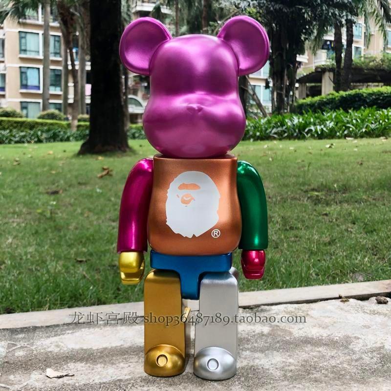 Новый 28 см 400% Bearbrick фигурку коллекционная модель горячие игрушки подарки на День рождения куклы Бесплатная доставка