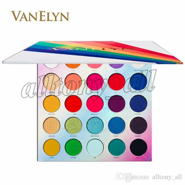 25 couleurs plus récent et Shimmer Matte Eyeshadow Eyeshadow facile à porter étanche avec une haute qualité