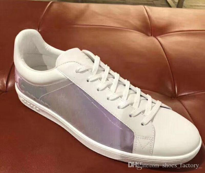 Hot sales Designer sneakerst trainers running for mens runners flats Genuine Leather brand racer luxury shoes size 34-45