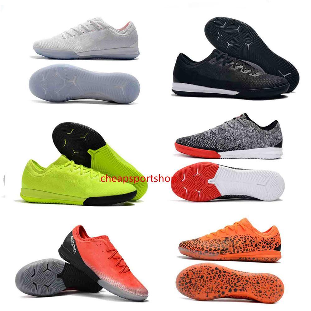 Designer Shoes Mens Low caviglia VAPORX 12CLUB TF calcio all'aperto migliore qualità CR7 Sport ic Calcio Boots tacchetti-513cx1z45sa