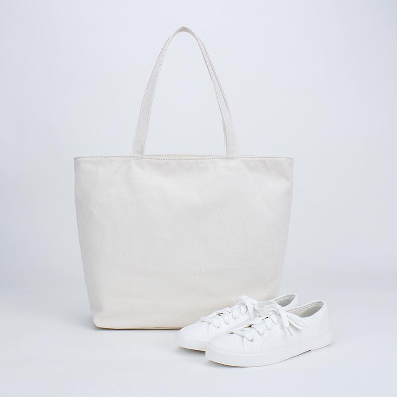 Version de toile de coton sac de femmes à la mode petit sac fourre-tout frais sac à bandoulière