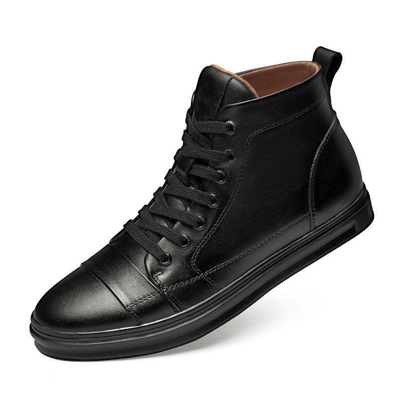 Men Dress Man piatto classico pattini esterni Lace Up Genuine Leather Ala Tip intagliate Oxfords Shoes all'italiana (peluche)% 3.190.282