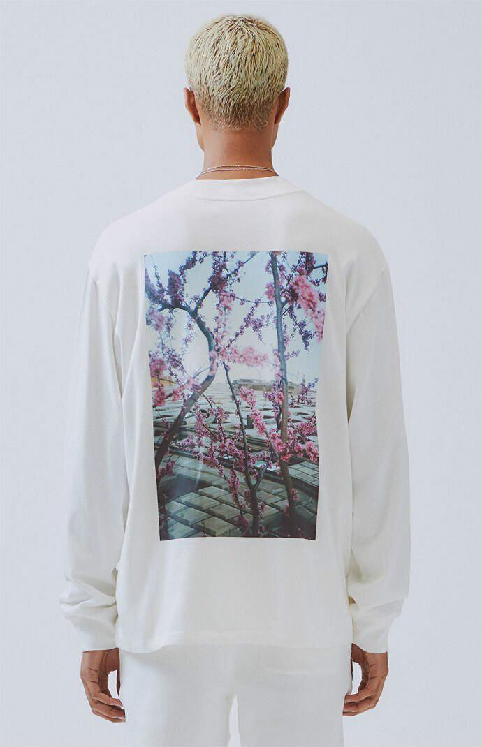T-shirt Mens 2020 Spring Summer New Longo Sleeeved Floral Imprimir shirt moda de alta qualidade Crew Neck Polo T Shirt S Casual / camisa de Luxo S