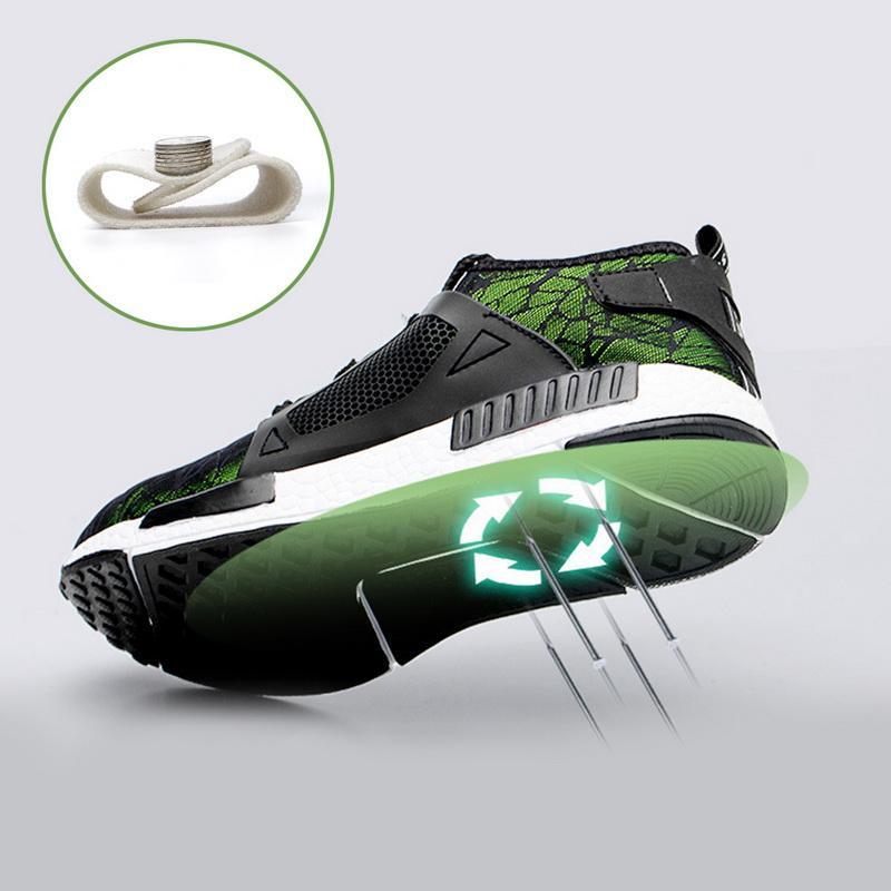 PUIMENTIUA nouvelles de Ryder Chaussures Hommes et femmes en acier Toe Air sécurité Bottes INCREVABLE travail Chaussures de sport Chaussures respirantes