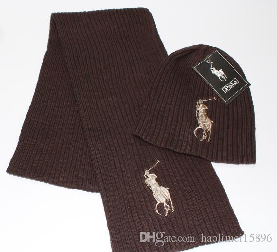 Yeni Kadın Şapka Eşarp Son Yün Örgü Şapka, Eşarp Suit, Sıcak Kaşmir Yün Cap Setleri