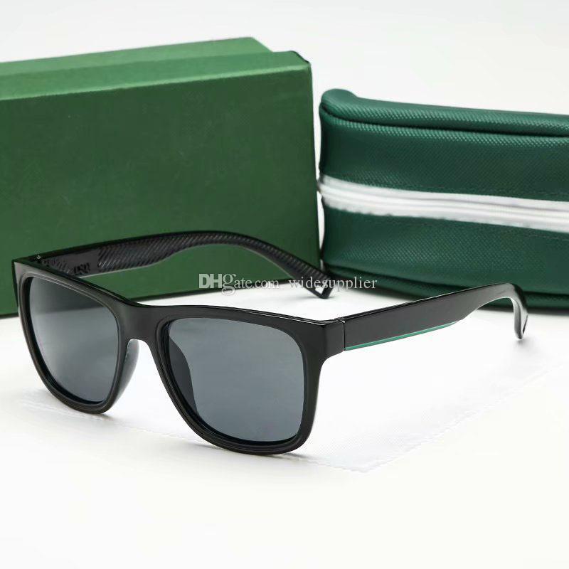 여자 망 선글라스 브랜드 악어 안경 디자이너 선글라스 레트로 태양 안경 남여 안경 디자이너 안경 뜨거운 여름